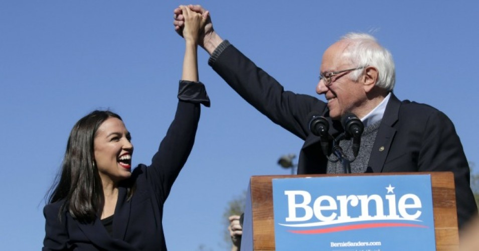 bernie-sanders-ocasio-cortez-queens-rally-endorsement-saturday